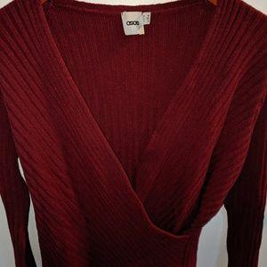 Asos wrap blouse size 8